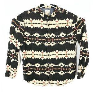 AE flannel Aztec print shirt